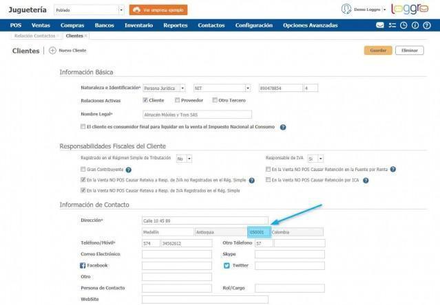 información de clientes facturacion electronica